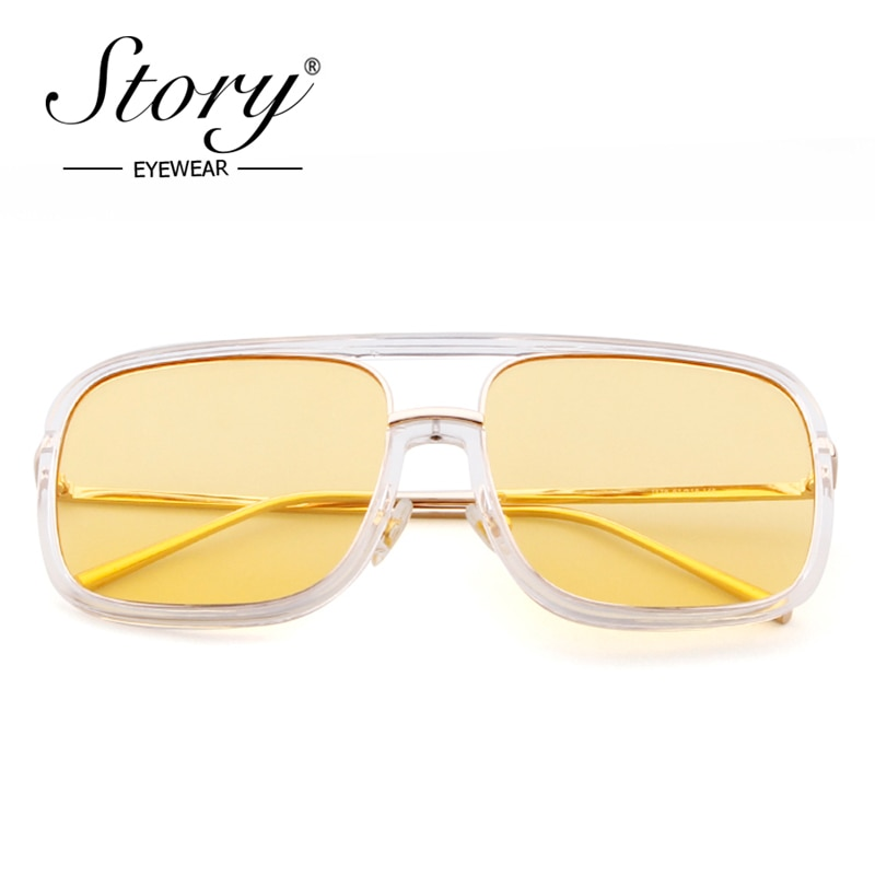 STORY gafas de sol de lujo para hombre, marca de diseñador, marco...