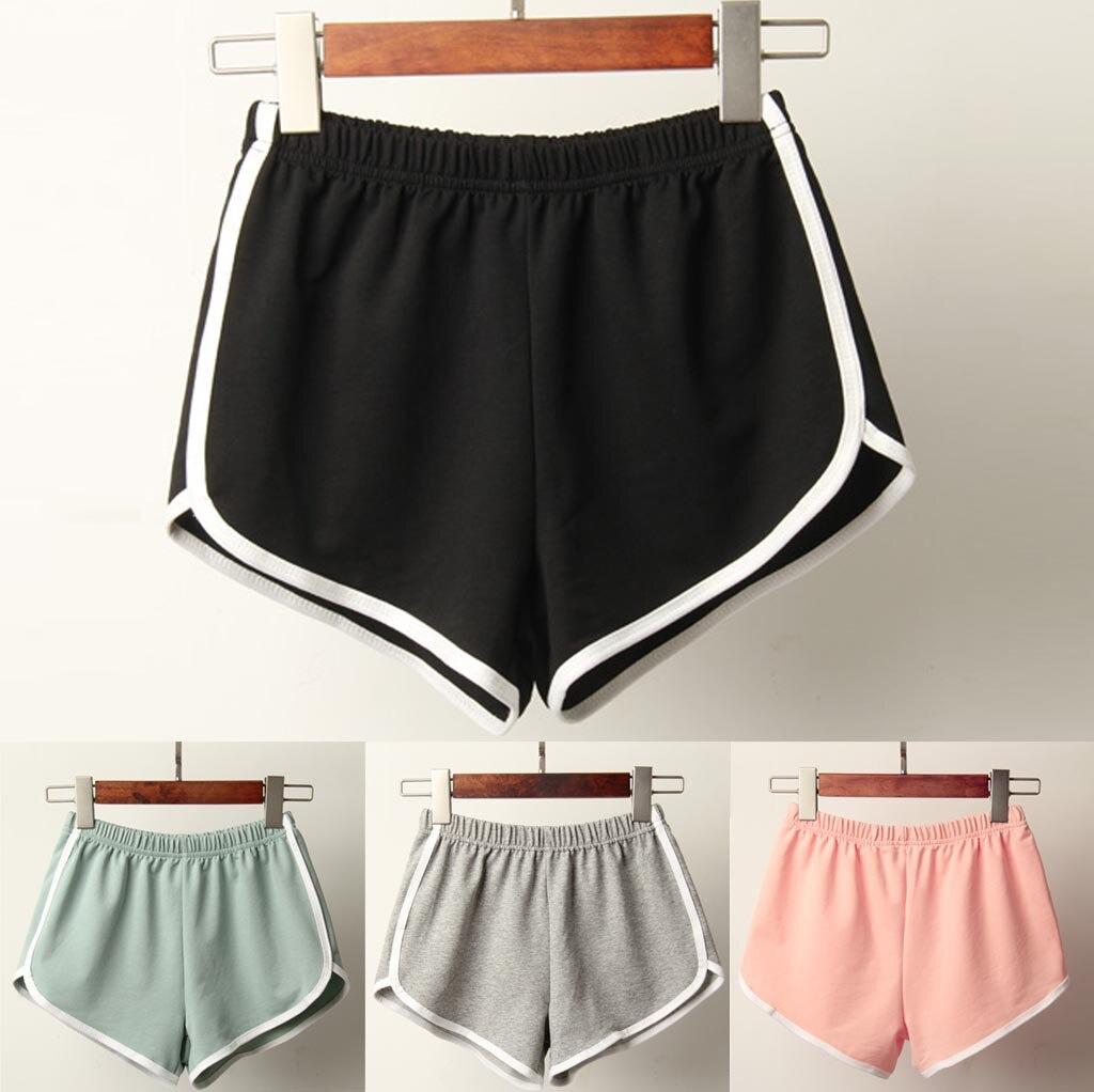 Pantalones cortos de verano para mujer 2019, pantalones cortos deportivos informales sexy, pantalón corto de mujer para la playa, pantalones cortos de verano de cintura alta