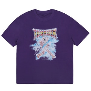 LACIBLE T-Shirts Hip Hop Harajuku Streetwear Men Gothic Punk Rock Lightning Skull Print Cotton Casual Short Sleeve Tees Tops