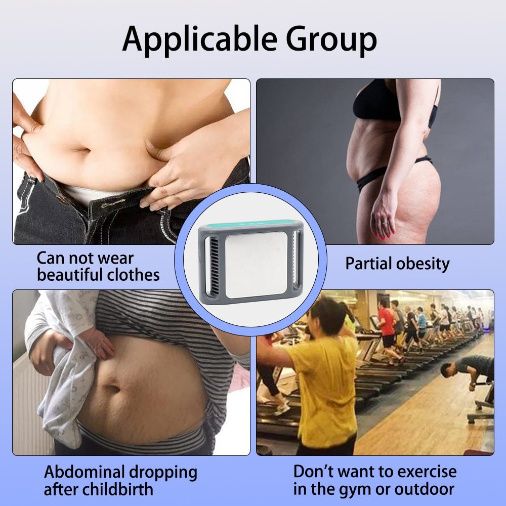 Cryotherapy Body Slimming Anti Cellulite Massager Cryolipolysis Machine Abdomen Thighs Calves Atraumatic Weight Loss Remove Fat enlarge