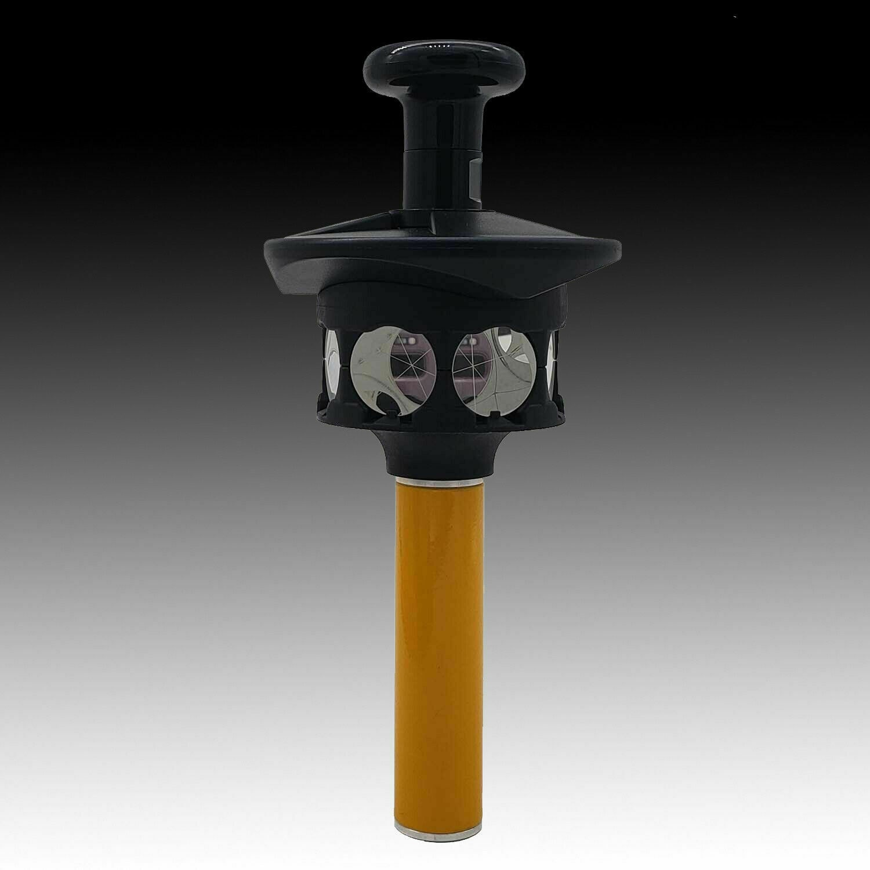 موشور عاكس 360 درجة لعاكس محطة المجموع Trimble ، محول الارتفاع