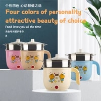 cooking pots saucepan pots for kitchen household electric wok for 2 people cooking rice dormitory small electric pot mini