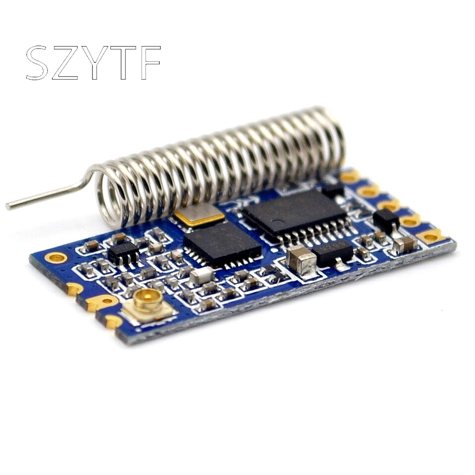 HC-12 SI4463 433 Módulo de puerto serie inalámbrico bajo consumo de energía 1000m bluetooth