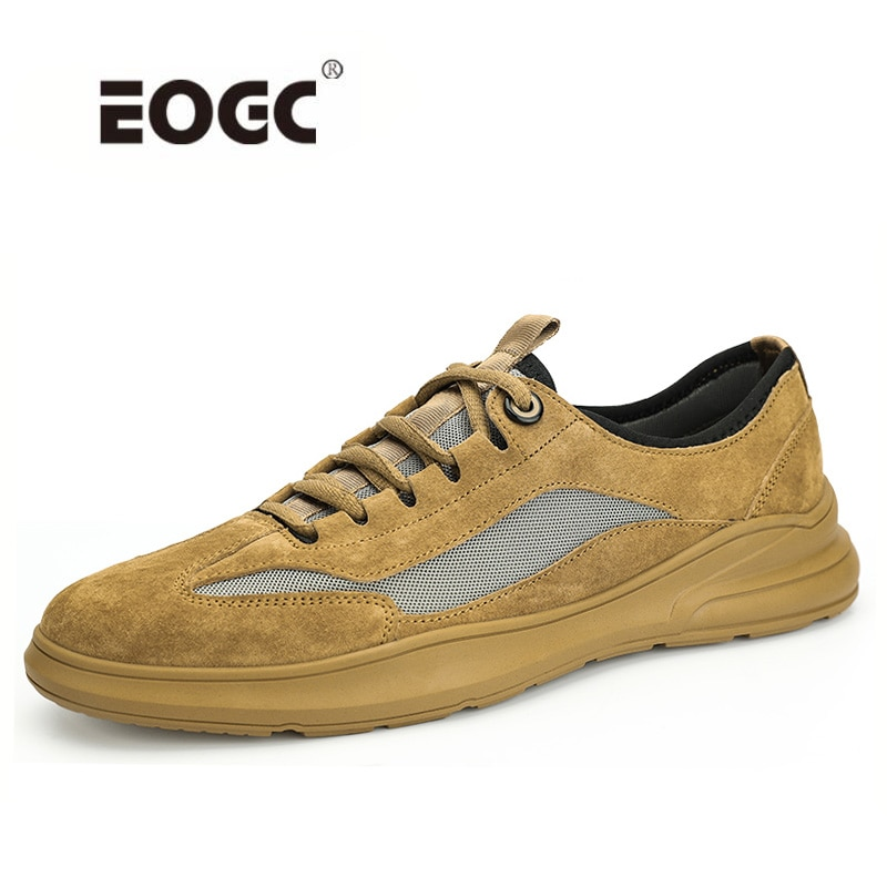 Genuine Leather Shoes Men Breathable Autumn Lace Up Comfortable  Casual Shoes Flats Outdoor Quality Non-Slip Walking Men Shoes breathable outdoor shoes men breathable lace up casual shoes flats quality comfortable men shoes zapatos hombre