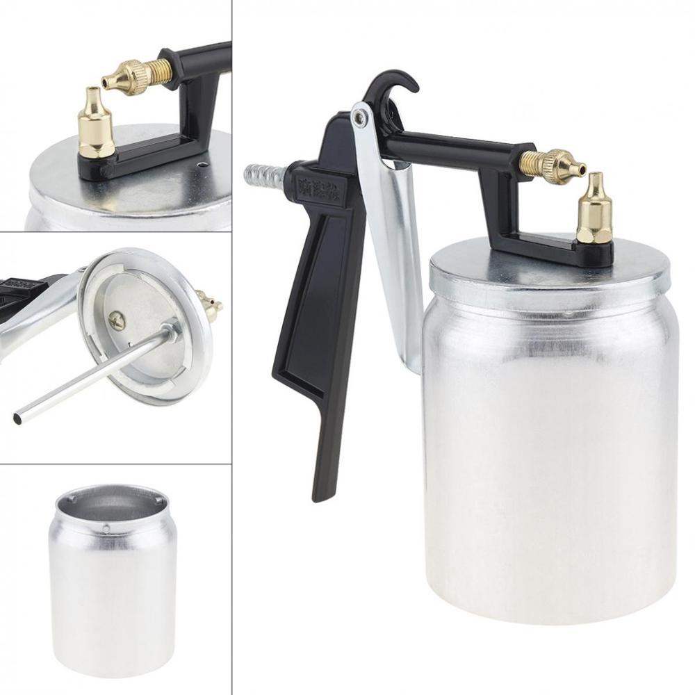 Pistola pneumática 500 ml profissional airbrush pulverizador liga pintura atomizador ferramentas com funil para carros de pintura PQ-1