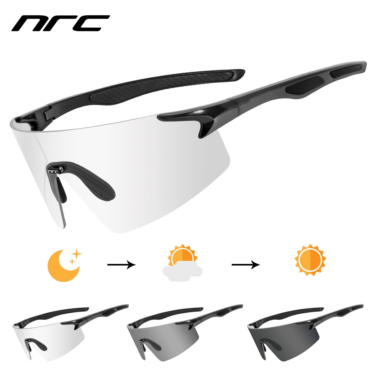 Gafas de ciclismo hombres mujeres bicicleta gafas 1 lente fotocrmica MTB bicicleta...