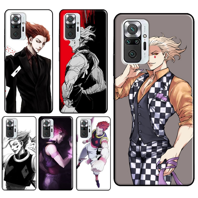 ¡Hisoka Hunter X Hunter Manga caso para Xiaomi Redmi Nota 10 Pro...