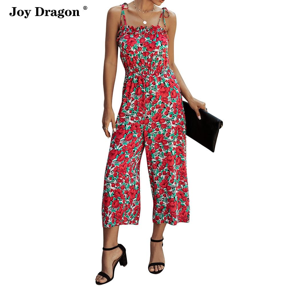 Women Sumemr Long Jumpsuit New Suspenders Rompers Combinaison Pantalon Femme Roupas Femininas Kombinezon Bodysuit Jumpsuits
