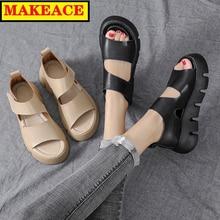 Women's Shoes Women's Sandals Fashion Platform Peep-toe Women's Sandals Outdoor Leisure