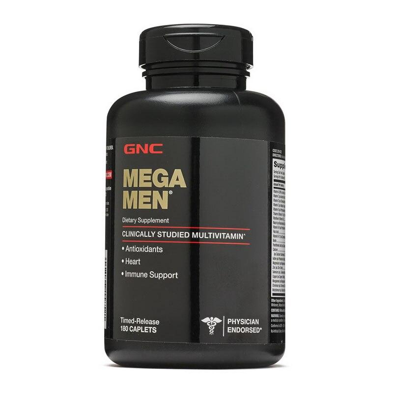MEGA MEN Antioxidants heart immune support 180 pcs