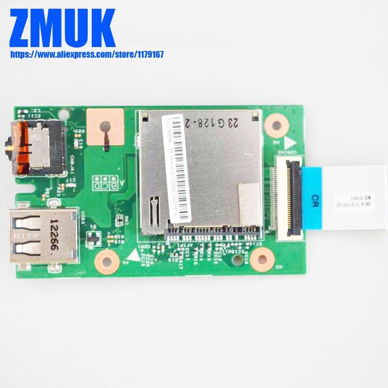 New Original LA58 CardReader Board w/Cable For Lenovo B580 B590 v580C Series,FRU 90000572 48.4TE03.011 55.4XH04.001