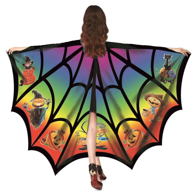 De alas de murciélago capa o accesorios para actuación en escenario fácil para llevar el maquillaje fiesta pequeña mariposa tamaño de 1pc