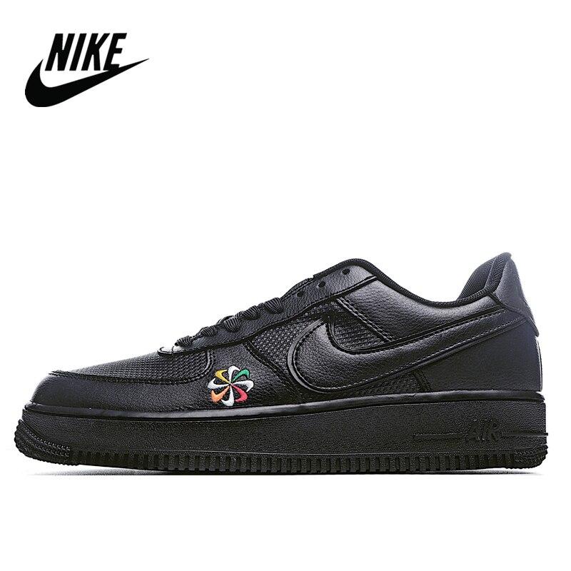Nike Air Force 1 negro molino de viento de los hombres bajo-top talla de zapatillas 40-45 CK9282-100