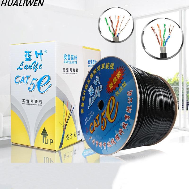 Gato 5e Cable de red 8-core 0,51-core libre de oxígeno de cobre...