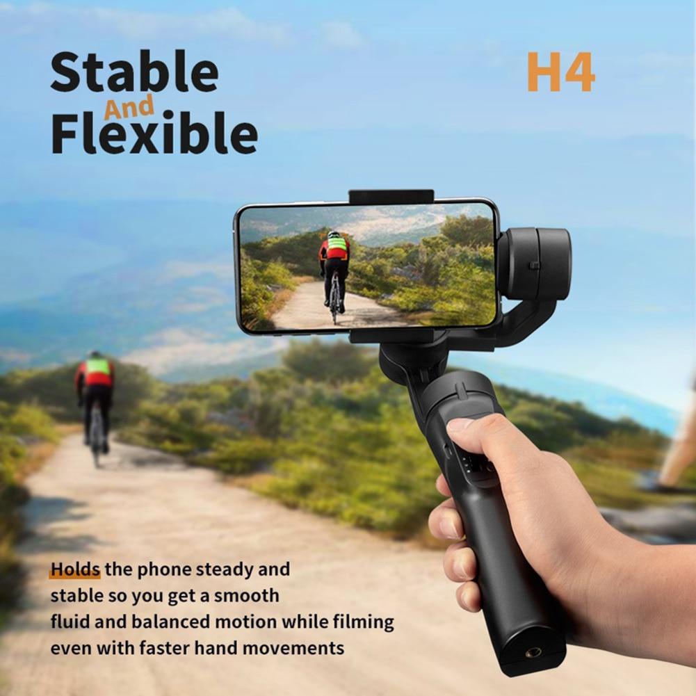 Nouveau stabilisateur de cardan de bâton de Selfie tenu dans la main chaud de 3 axes Stable réglable pour le téléphone portable