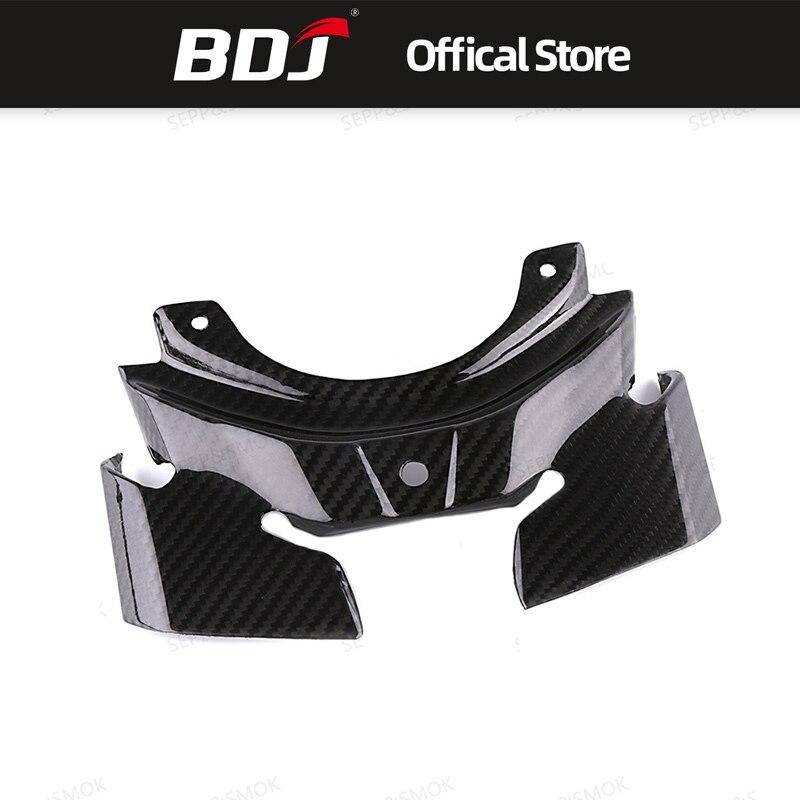 BDJ para Yamaha MT10 MT 10 MT-10 2016 2017 2018 Moto accesorios de fibra de carbono trasera funda protectora