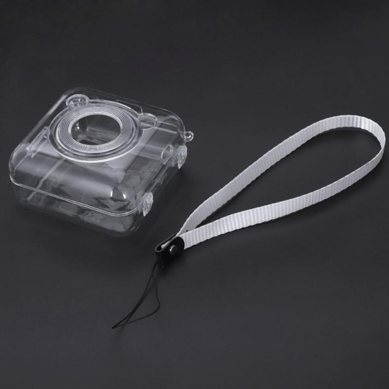 Прозрачный защитный чехол для ПК, чехол для переноски для фотопринтера Peripage