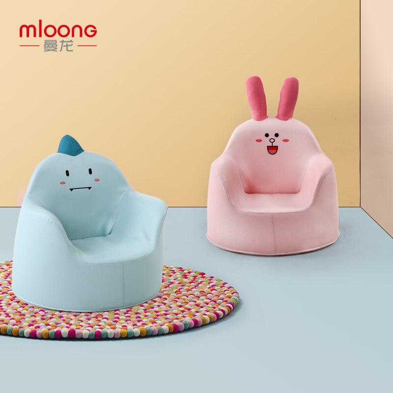 Niños sofá bebé dibujos animados niña niño bebé perezoso asiento pequeño sofá princesa taburete bebé tumbona silla para niños