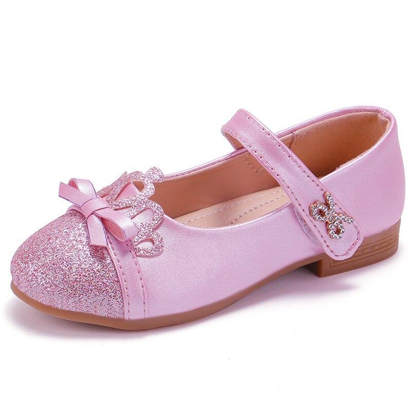2020 Nieuwe Kinderen Prinses Schoenen voor Meisjes Ballet Flats Bowknots Lente Zomer Casual Kinderen Mary Jane Ballerina Party Dress Schoenen