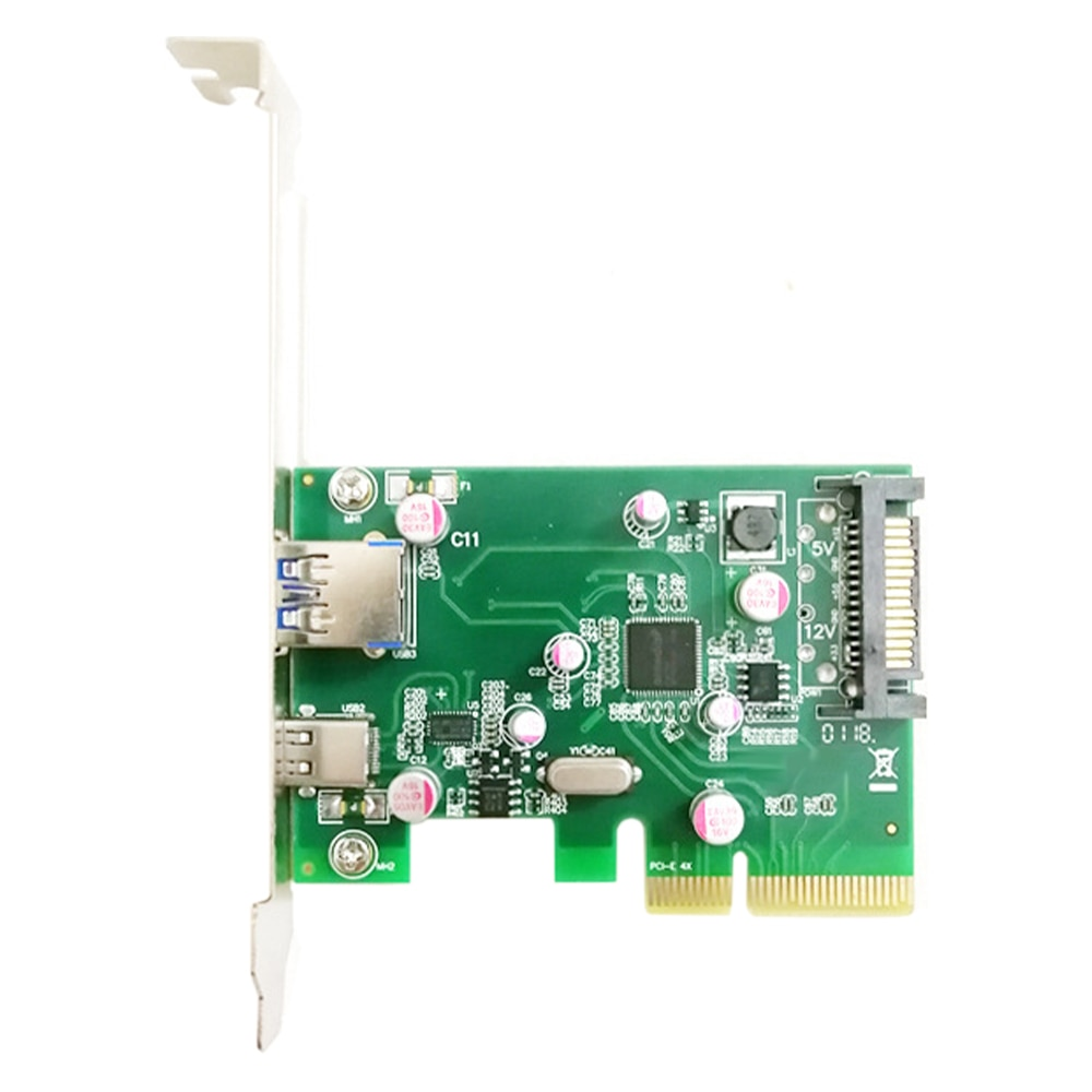 جديد وصول PCIE 4X إلى نوع C 3.1 + USB3.0 بطاقة التوسع 10Gbps محول محول بطاقة ل حاسوب شخصي مكتبي