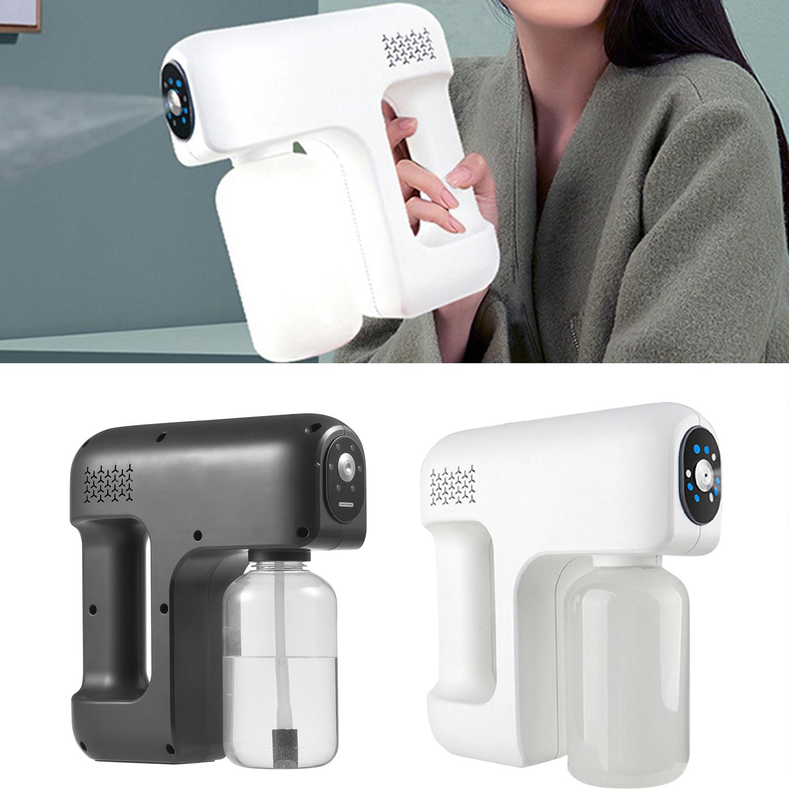 Nano Mist Santitizer Machine Usb Wireless Hand Held Atomizer Disinfection Gun Cordless Electric Office Garden Portable Sprayer