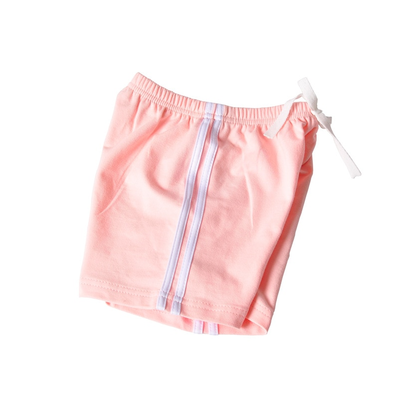 2021 Thin Summer Casual Active Boys Shorts Drawstring Striped Mid Waist Elastic Loose  Cotton Shorts  Clothes for Teens