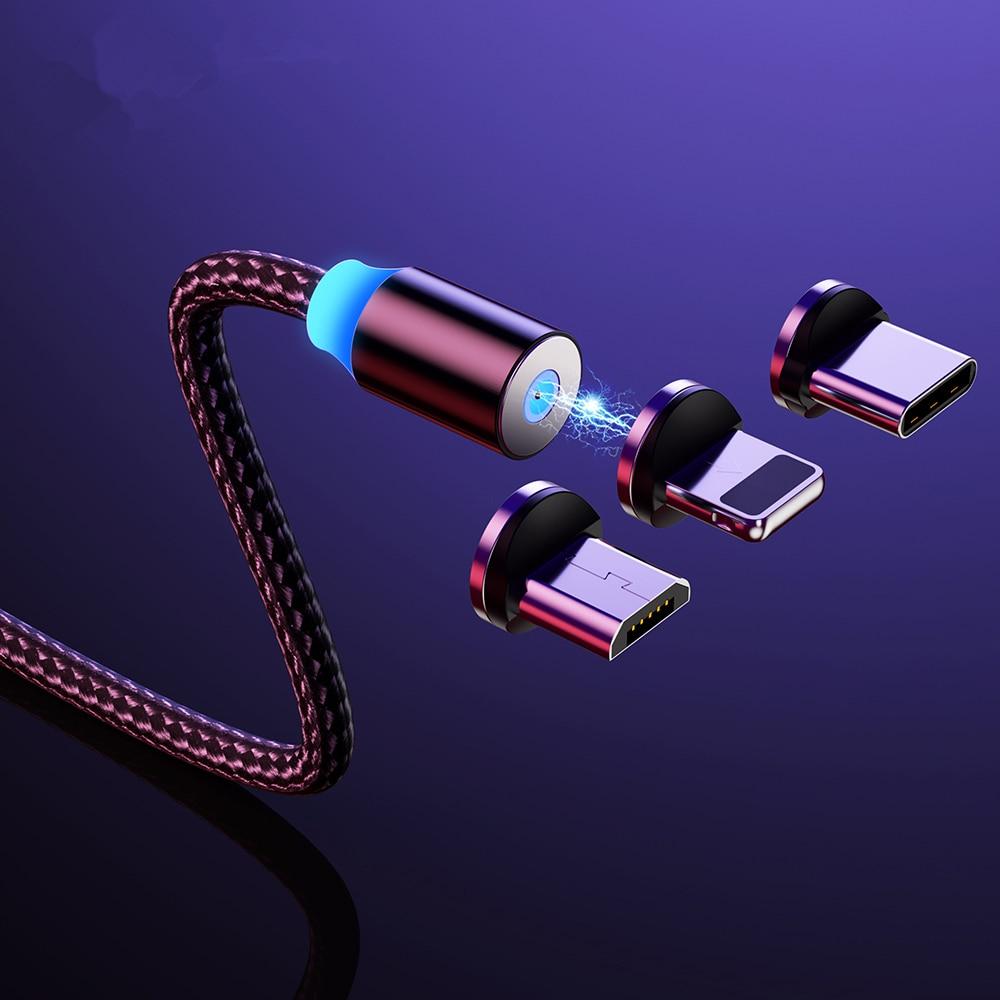 Cable magnético Micro USB tipo C para iPhone 11 y Xiaomi, Cable...