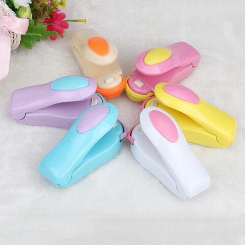 Mini handheld titular aquecimento elétrico máquina de selagem lanche selado saco plástico embalagem saco de alimentos selado kichen ferramenta