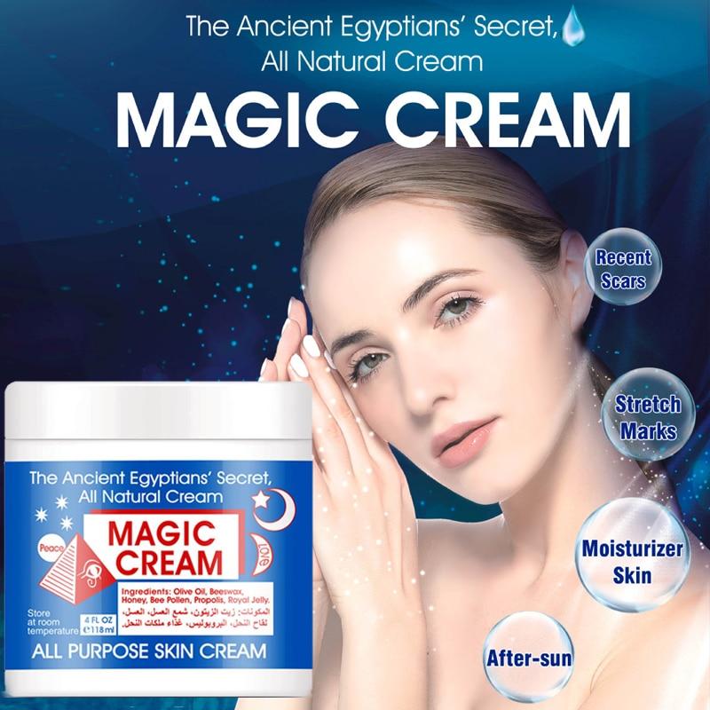118ml Egyptian Secret Magic Facial Cream Skin Face Cream Natural Anti Aging Wrinkle Moisturizing Nourishing Acne Repair