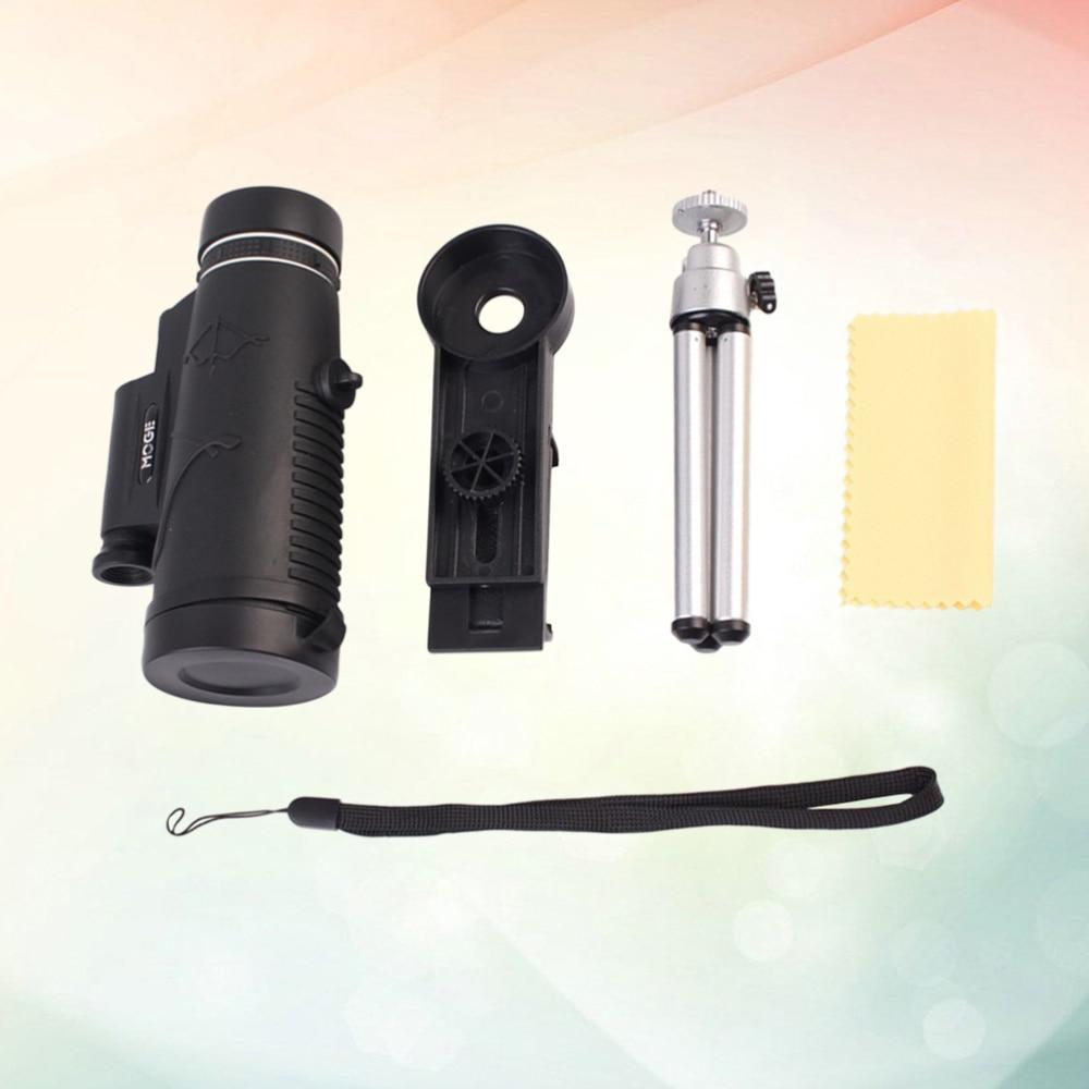 50x60 telefone monocular hd câmera telescópio filme telescópio monocular telescópio para caminhadas ao ar livre caça