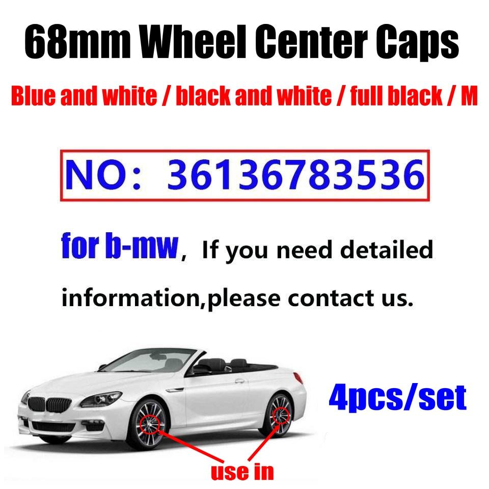 60 uds estilo de coche 68mm 10 pin Auto tapas de cubo de rueda llanta tapas cubre para BMW E46 E30 E39 E34 E60 E36 E38 M3 M5 placa
