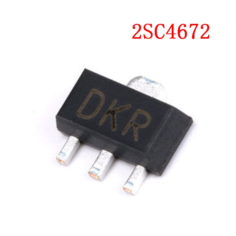 20 teile/los 2SC4672 DK einzigen bildschirm SOT89 transistoren original authentischen