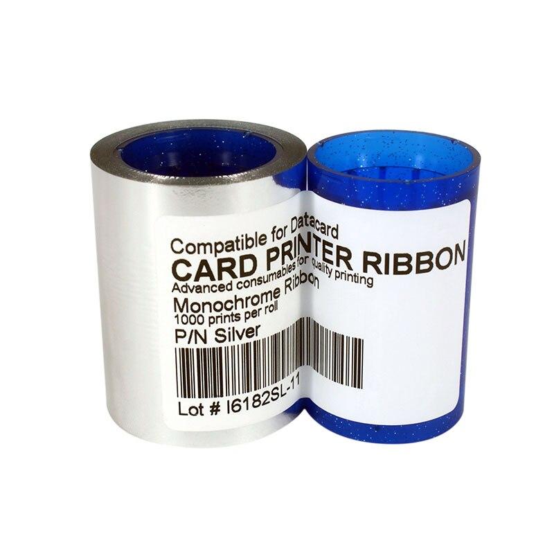 Tira de Fita 1000 impressões para DC285SL, Datacard SP25 SP30 SP35 SP55 SP75 CP40 CP60 CP80 Impressora de Cartões