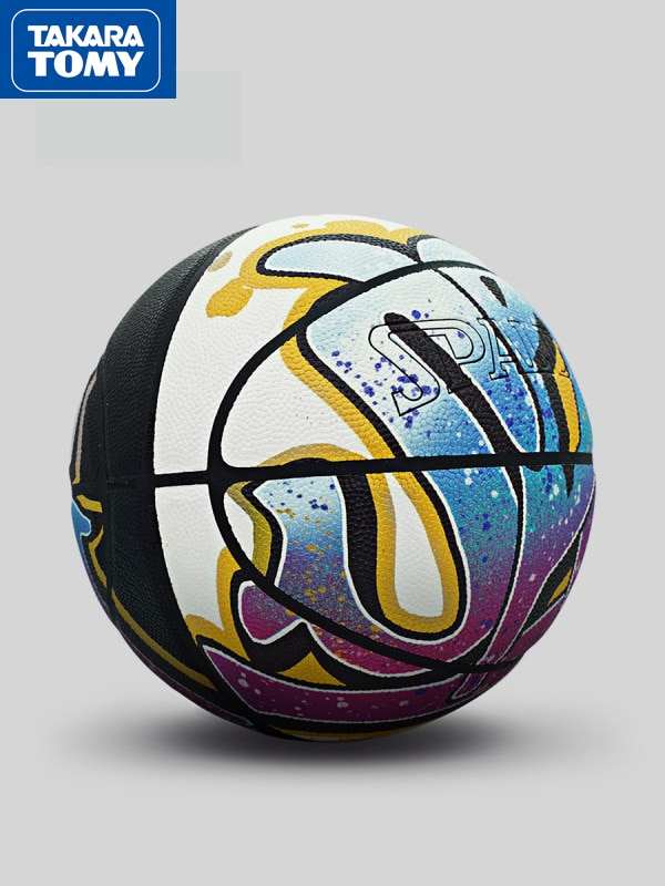 Spalding genuine standard basketball PU No. 7 men's basketball Baloncesto basketball color graffiti trend basketball