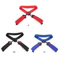 Adjustable Skiing Poles Shoulder Hand Carrier Lash Handle Straps Porter Hook Loop Protecting Black Nylon Ski Handle Strap Bags
