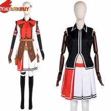 Costumebuy The Legend of Heroes Sen no Kiseki II Alisa Reinford Cosplay Costume Full Outfits Adut Halloween Party Custom Made