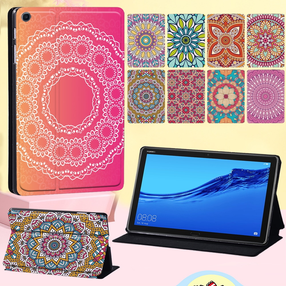 Flip Cover Case for Huawei MediaPad M5 Lite 10.1