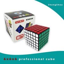 Shengshou 6x6x6 cubo mágico 6 capas 6x6 cubo profesional cubo mágico regalo juguetes Shengshou cubo educativo niños diversión