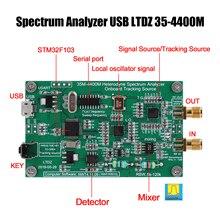 Spektrum Analysator USB LTDZ 35-4400M Spektrum Signal Quelle mit Tracking Quelle Modul RF Frequenz Domain Analyse Werkzeug
