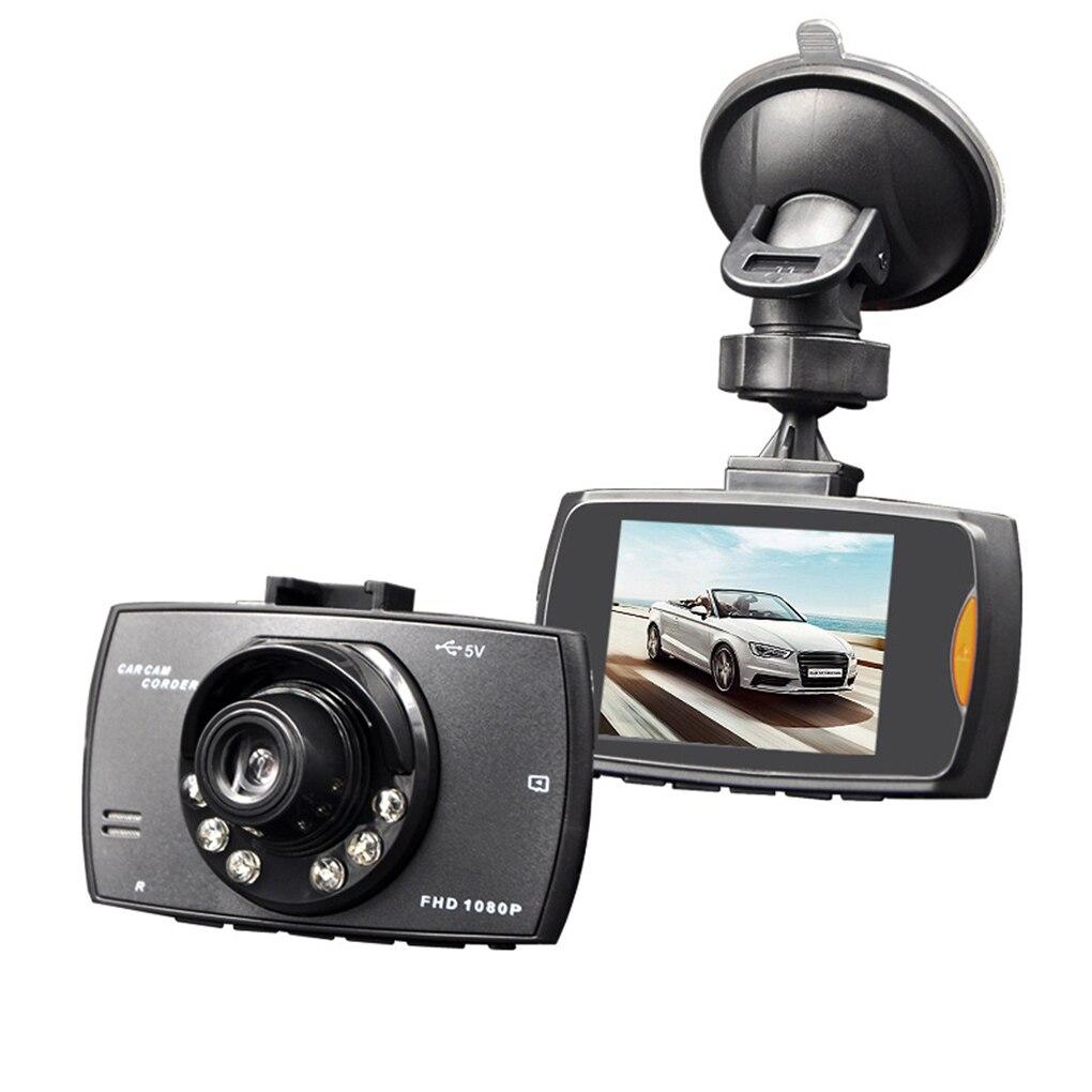Автомобильный видеорегистратор Full HD 1080P, 2,7 дюйма, с датчиком движения