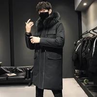 new winter loose men winter fashion loose coat winter loose men winter fashion loose coat black fashion down jacket
