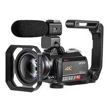 Caméscope caméra vidéo 4K ORDRO AC5 12X Zoom optique Wifi Full HD Camara Filmadora Vlog caméra
