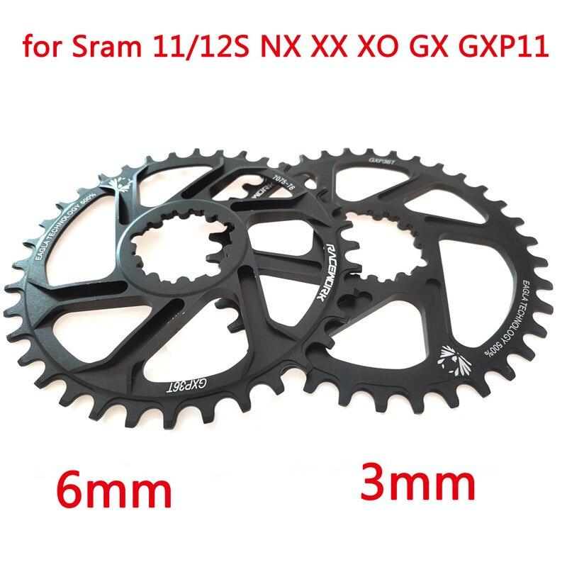 Бесплатная доставка велосипедная Звездочка 32 34 36 38 T узкая ширина велосипедная Звездочка Bont Gxp XX1 Xo Cnc AL7075 кривошипный велосипед
