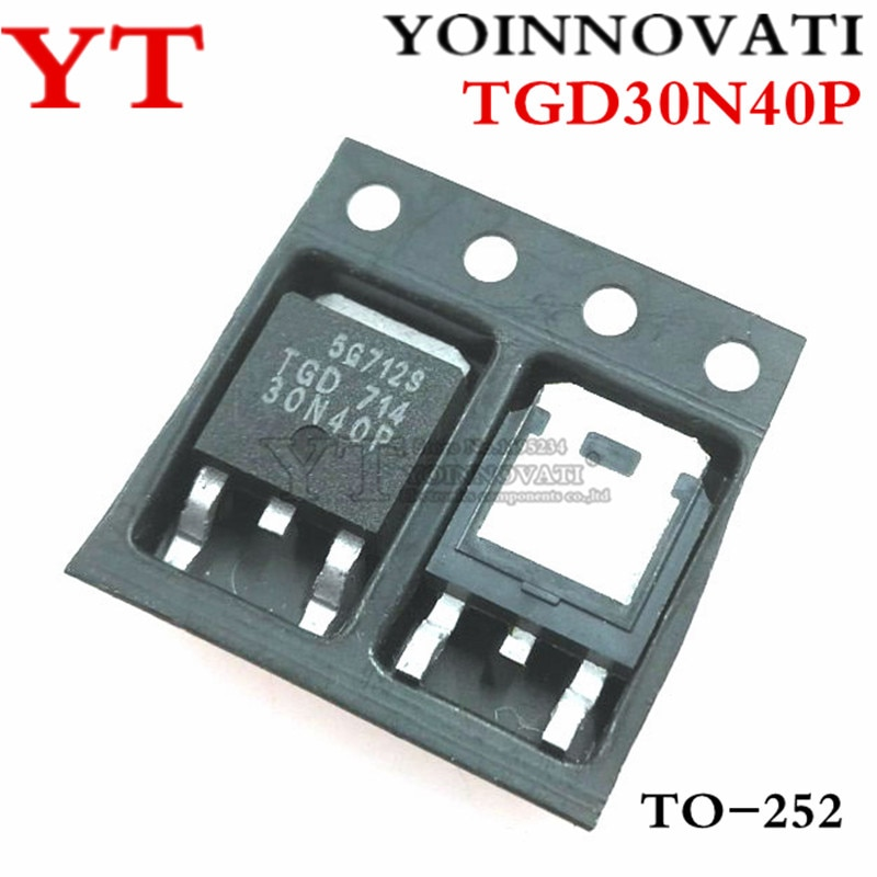 50 unids/lote TGD30N40P TGD30N40 30N40P-252 IC