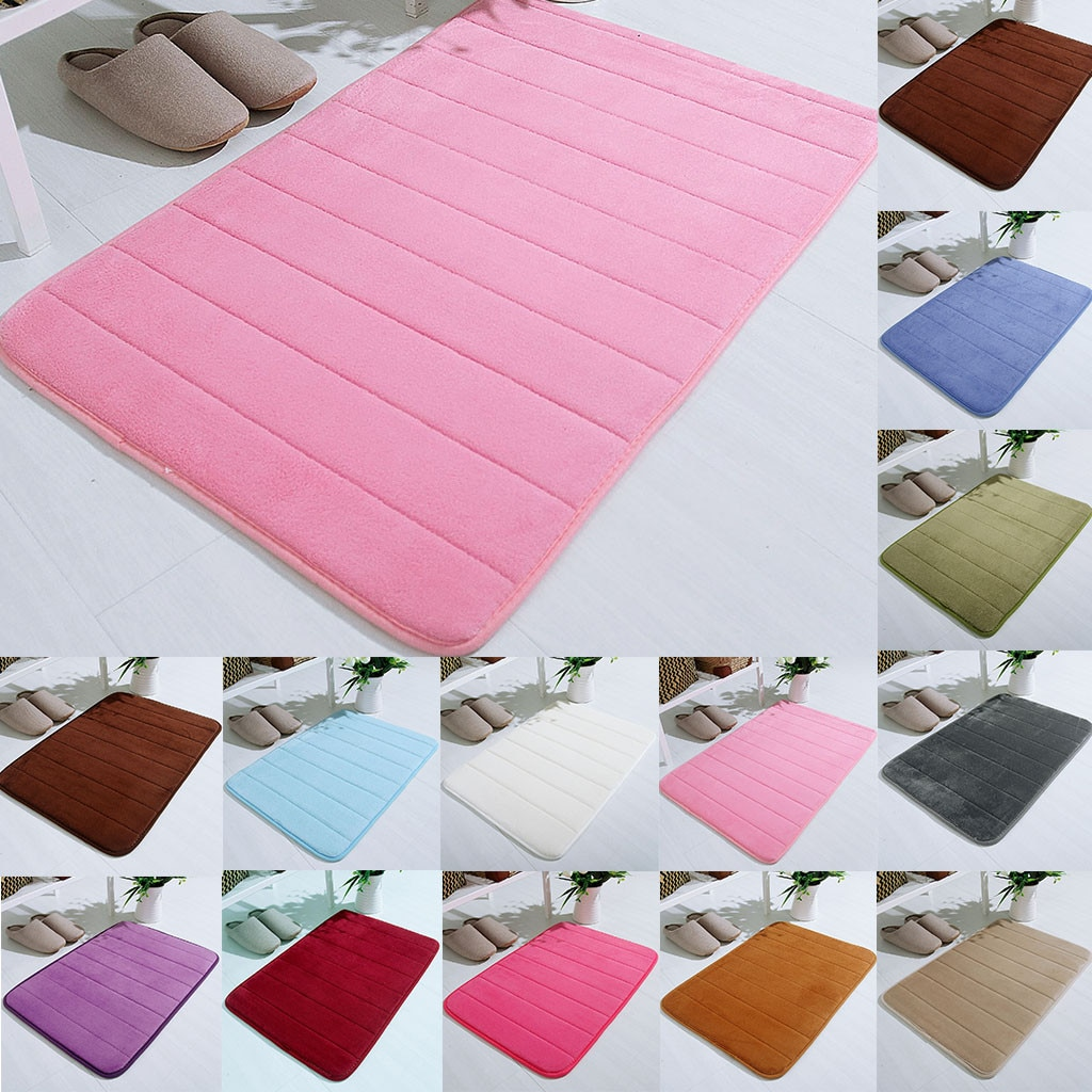 Sala de estar/dormitorio alfombra de algodón 40x60cm Ultra suave área moderna alfombras rectangulares peludas alfombra de guardería hogar habitación alfombra de felpa Decoración
