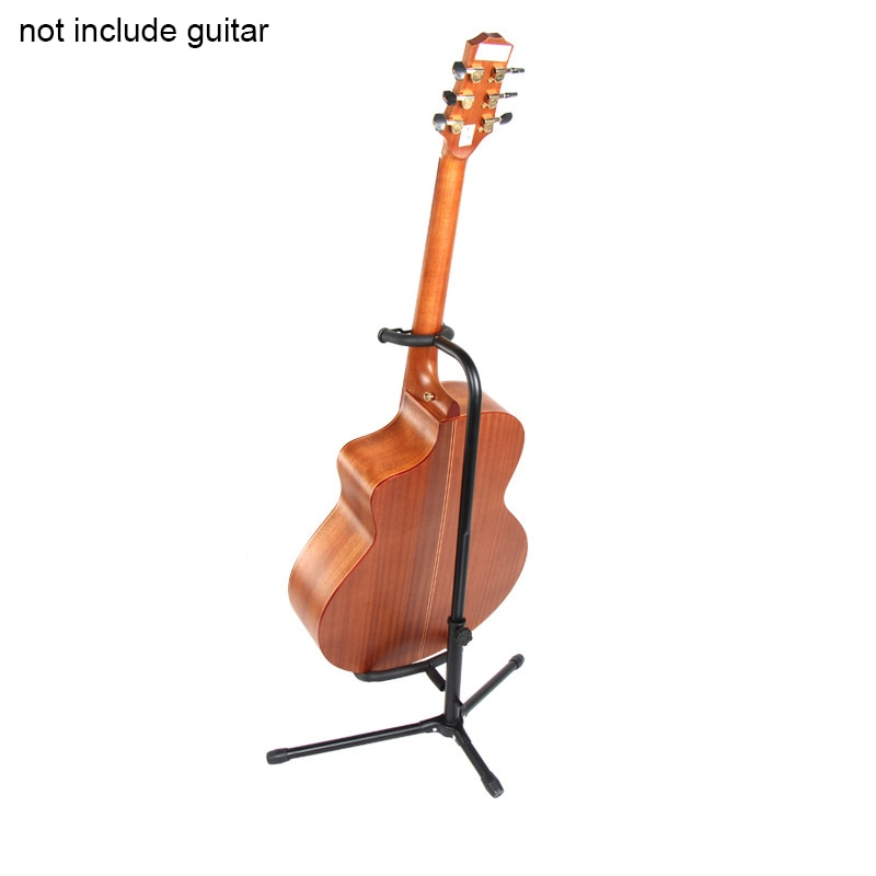 Aluminum Alloy Floor Guitar Stand with Stable Tripod Holder for Acoustic Electric Guitar Bass Guitar Stand enlarge