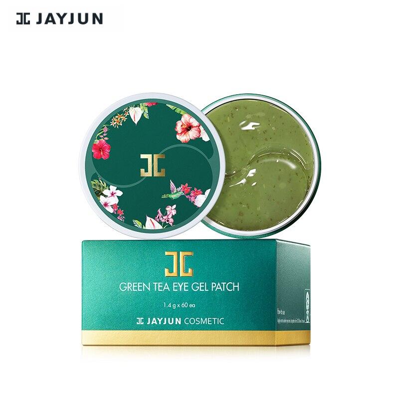 Oringal Корея маска для глаз JAYJUN Зеленый чай/Roselle гидрогель гель для глаз патч под маска для глаз 60 шт