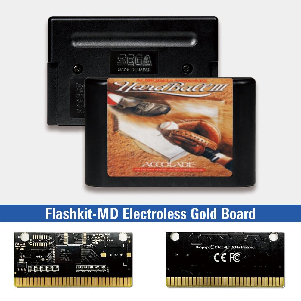Al Michaels anuncia duro III - EUR etiqueta Flashkit MD tarjeta para...