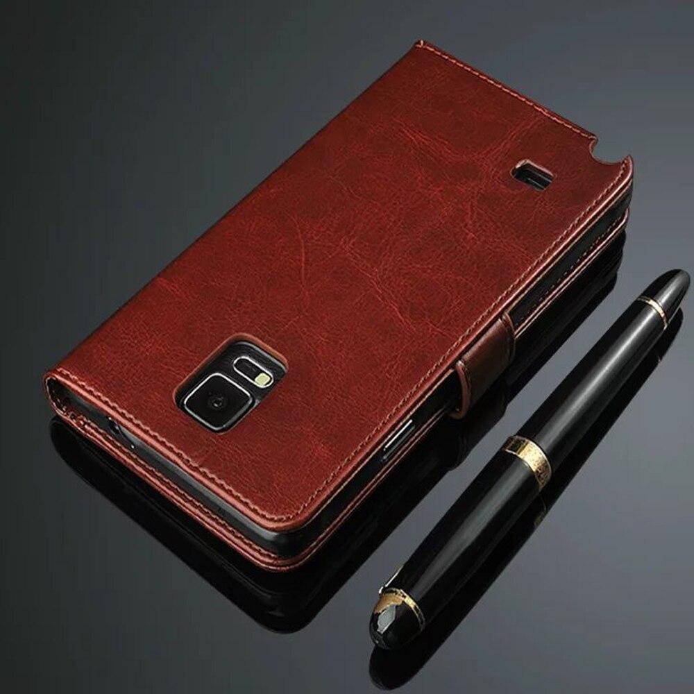 Funda de cuero tipo billetera para Samsung Galaxy Note 4, Note 4,...