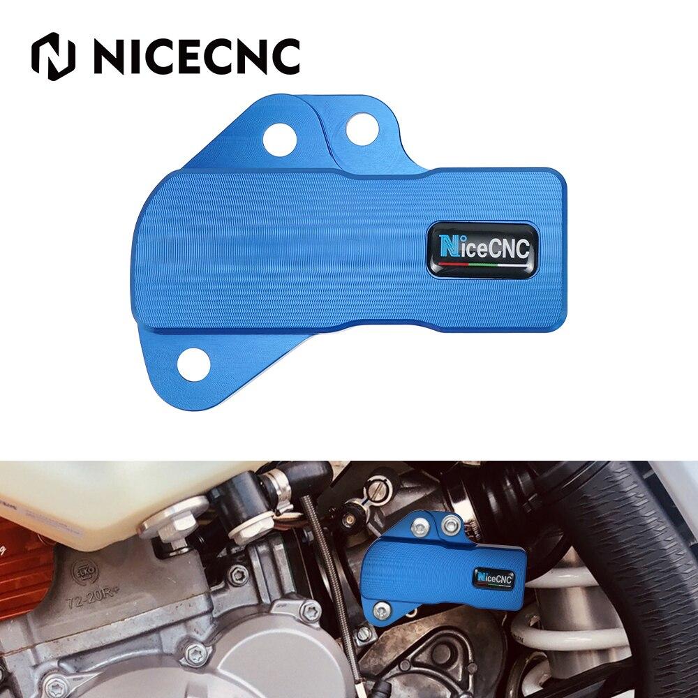NICECNC TPS Throttle Position Sensor Guard Cover Protector For Husqvarna TE250i TE300i TE150i TX300i TE TX 250i 300i 150i недорого